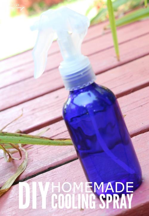 DIY Homemade Cooling Spray