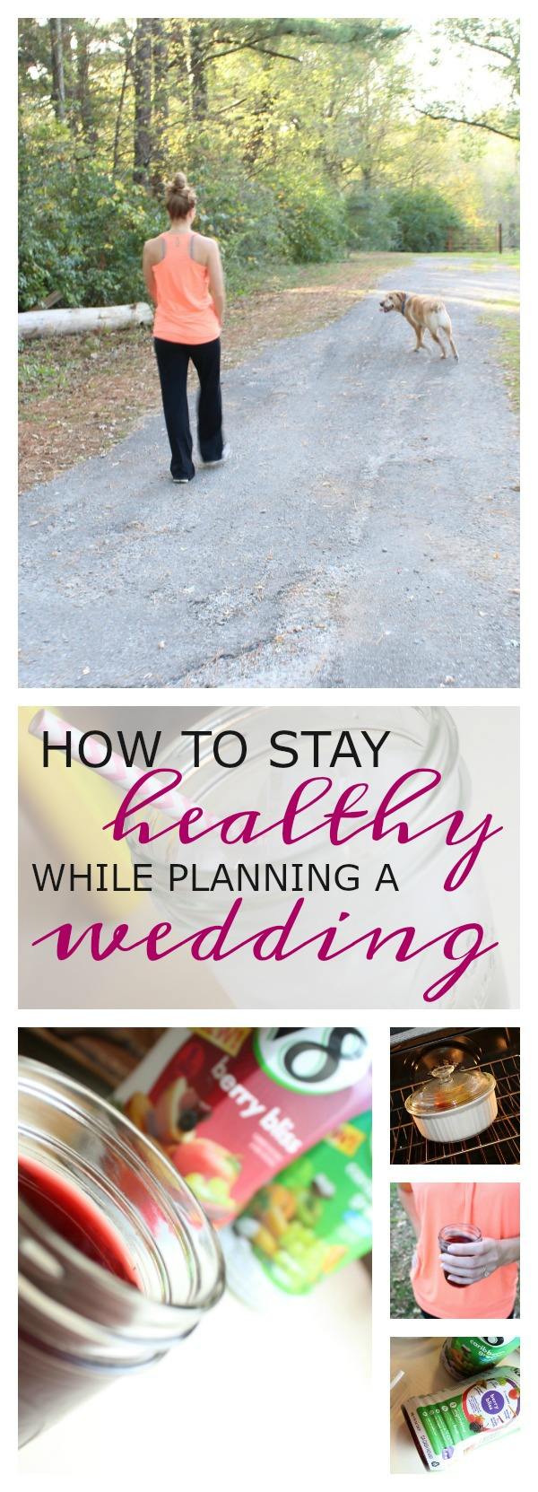 How to Stay Healthy While Planning a Wedding