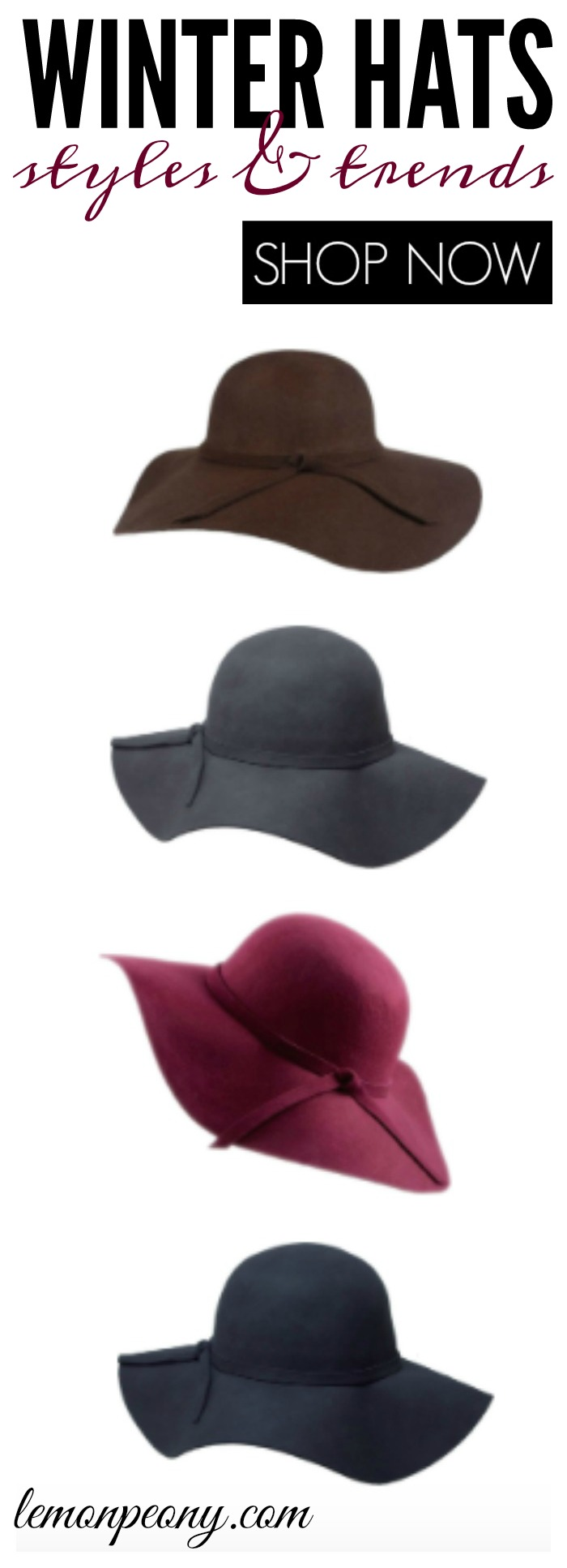 Cheap Winter Hats! Styles and Trends you'll love for Fall and Winter!