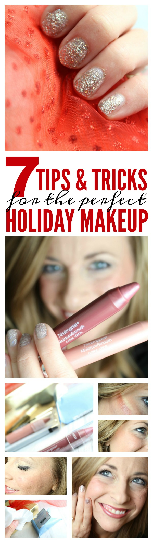 Top 7 Holiday Makeup Tips and Tricks for Christmas and New Years! Easy and Simple