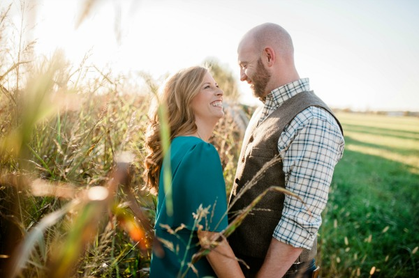Engagement Photos in Field