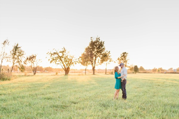 Engagement Photos with Perfect Lighting