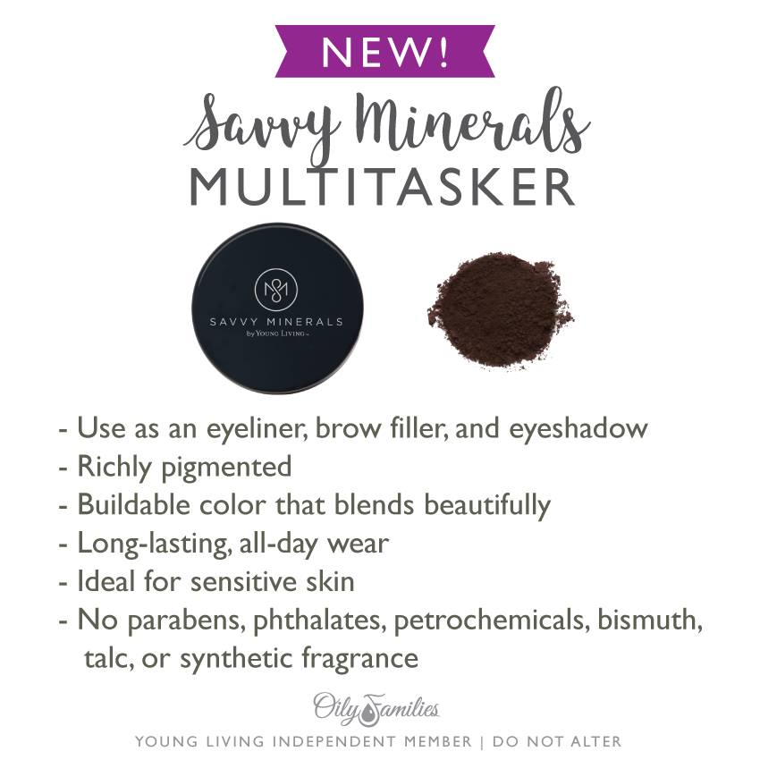 Savvy Minerals Makeup Products By Young Living