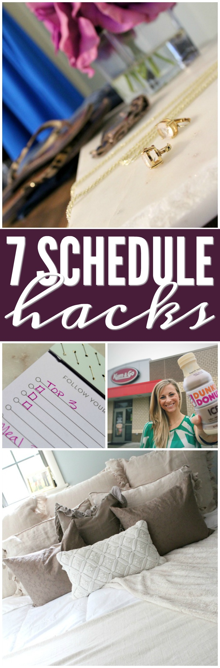 7 Schedule Hacks for Fall! Tips and Tricks to Prioritize, Maintain, and Manage your schedule with easy organiation tips & system HACKS!