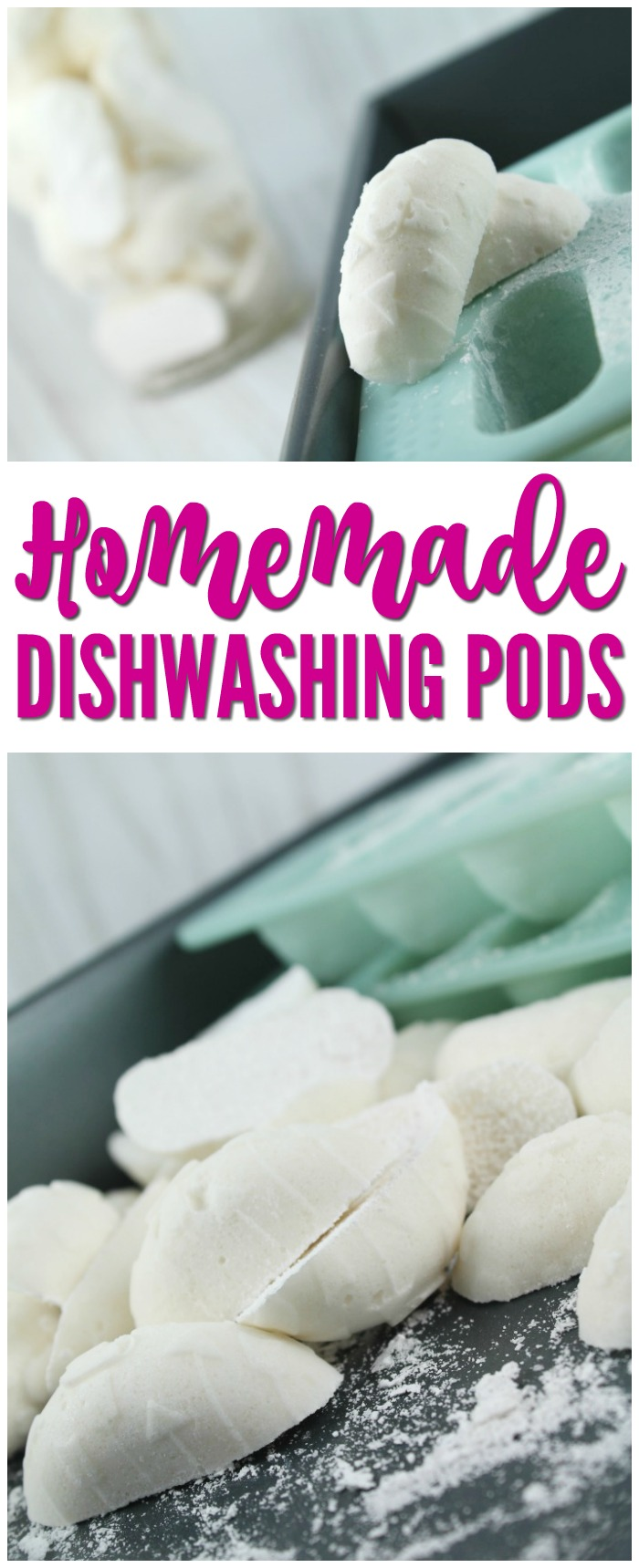Homemade Dishwashing Pods!