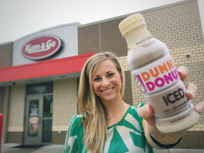 Easy Dunkin' Donuts Iced Coffee at Kum & Go