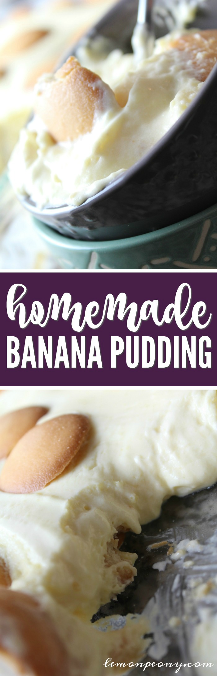 Homemade Banana Pudding Recipe! Easy Dessert Recipe for Parties & Game Day!