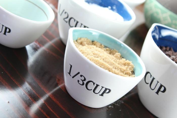 Chocolate Chip Dip Ingredients
