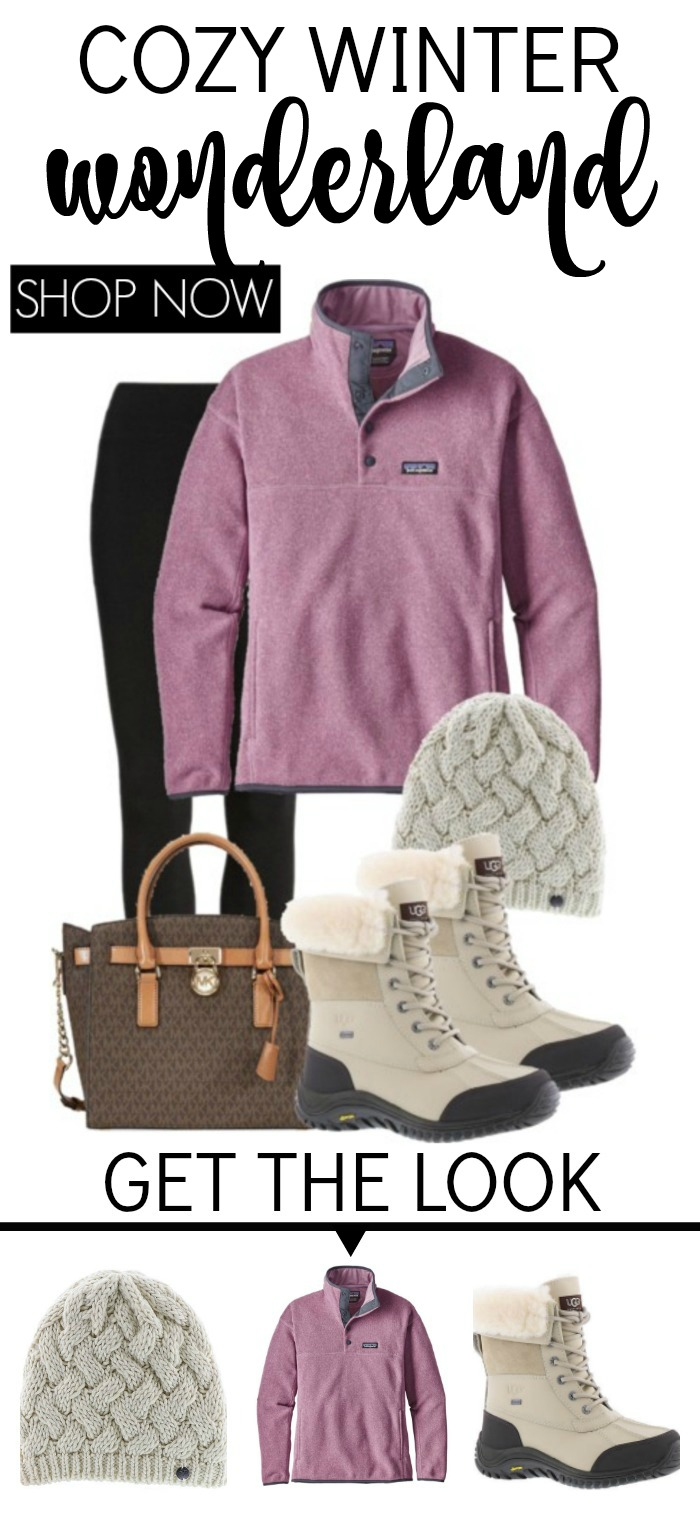 Cosy winter wonderland outfit for Women! This Winter Fashion is so comfortable and the perfect everyday style and trends!