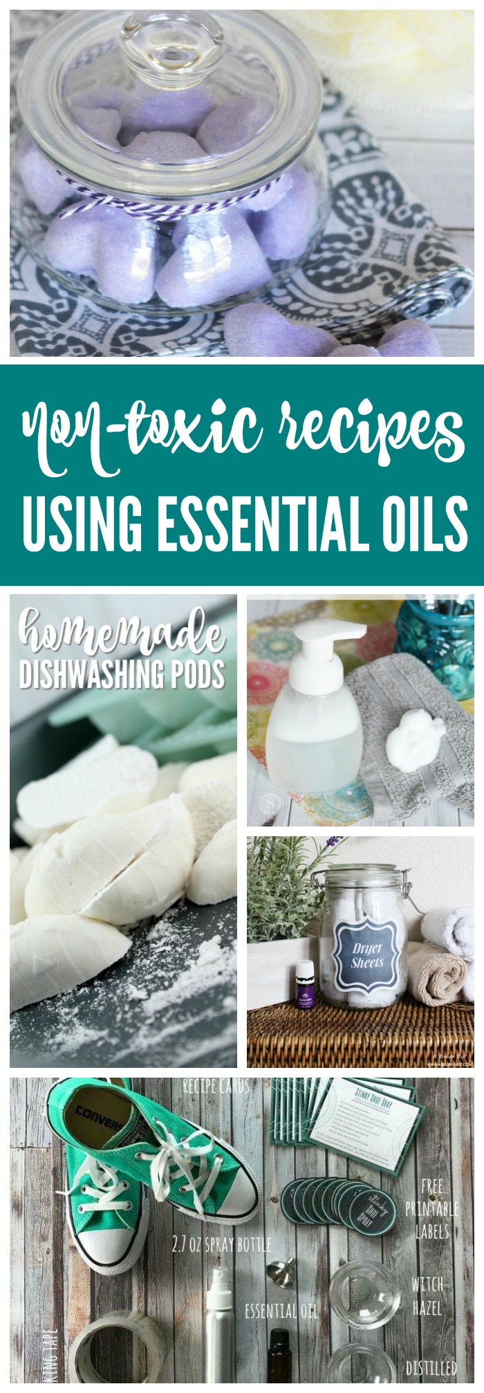 Here are The Best Non-Toxic Home Recipes Using Essential Oils! Chemical Free and Homemade HACKS you need to ditch the toxics this year for a healthy home!