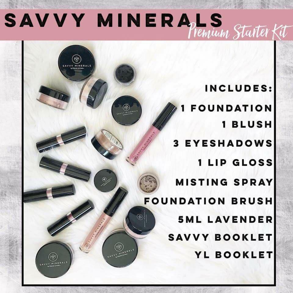 Savvy Minerals Starter Kit