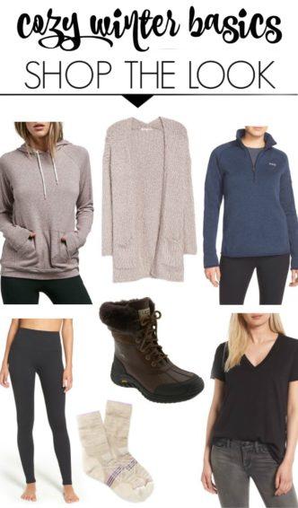 Cozy Winter Fashion Basics