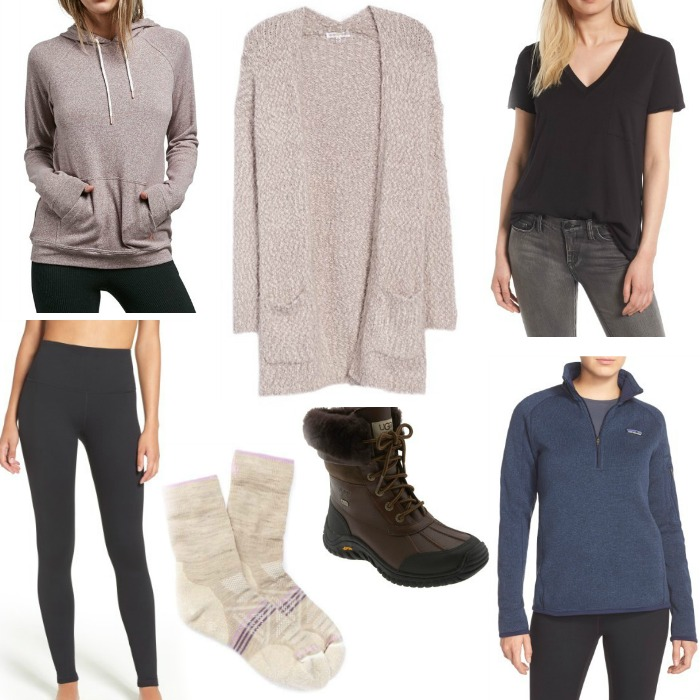Cozy Winter Fashion Basics Square