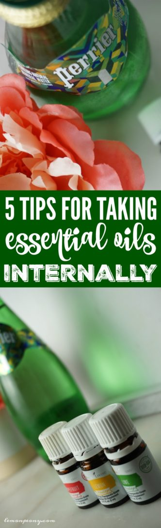5 Tips for Taking Essential Oils Internally! Adding Essential Oils to Water has many benefits for health and wellness!