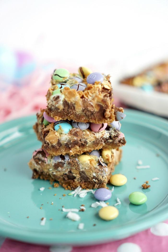 Easter Magic Cookie Bars Recipe