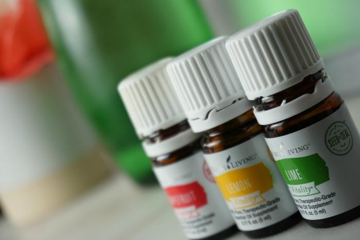 Essential Oils in Water