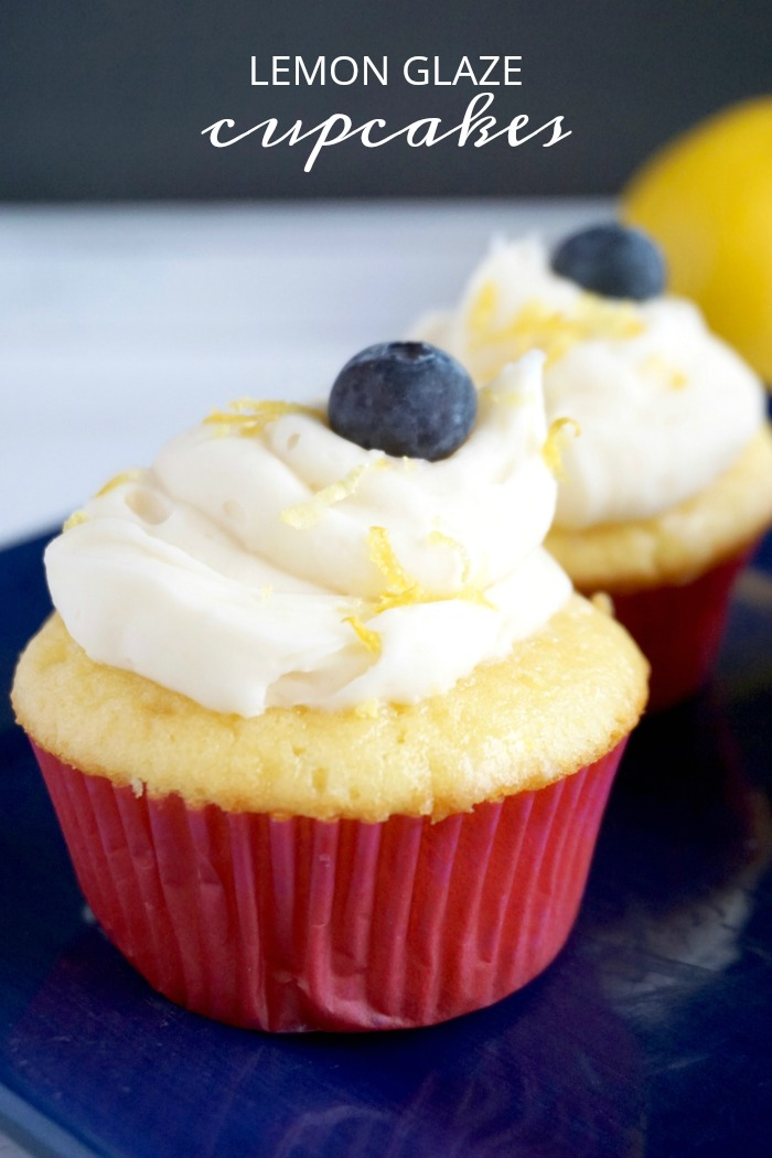 Lemon Glaze Cupcakes Recipe