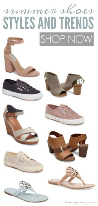 Summer Shoes Styles and Trends