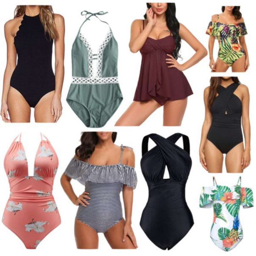 Cheap One Piece Swimsuits & Tankinis