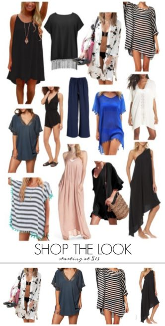 Cute and Cheap Summer Swimsuit Coverups and Wraps