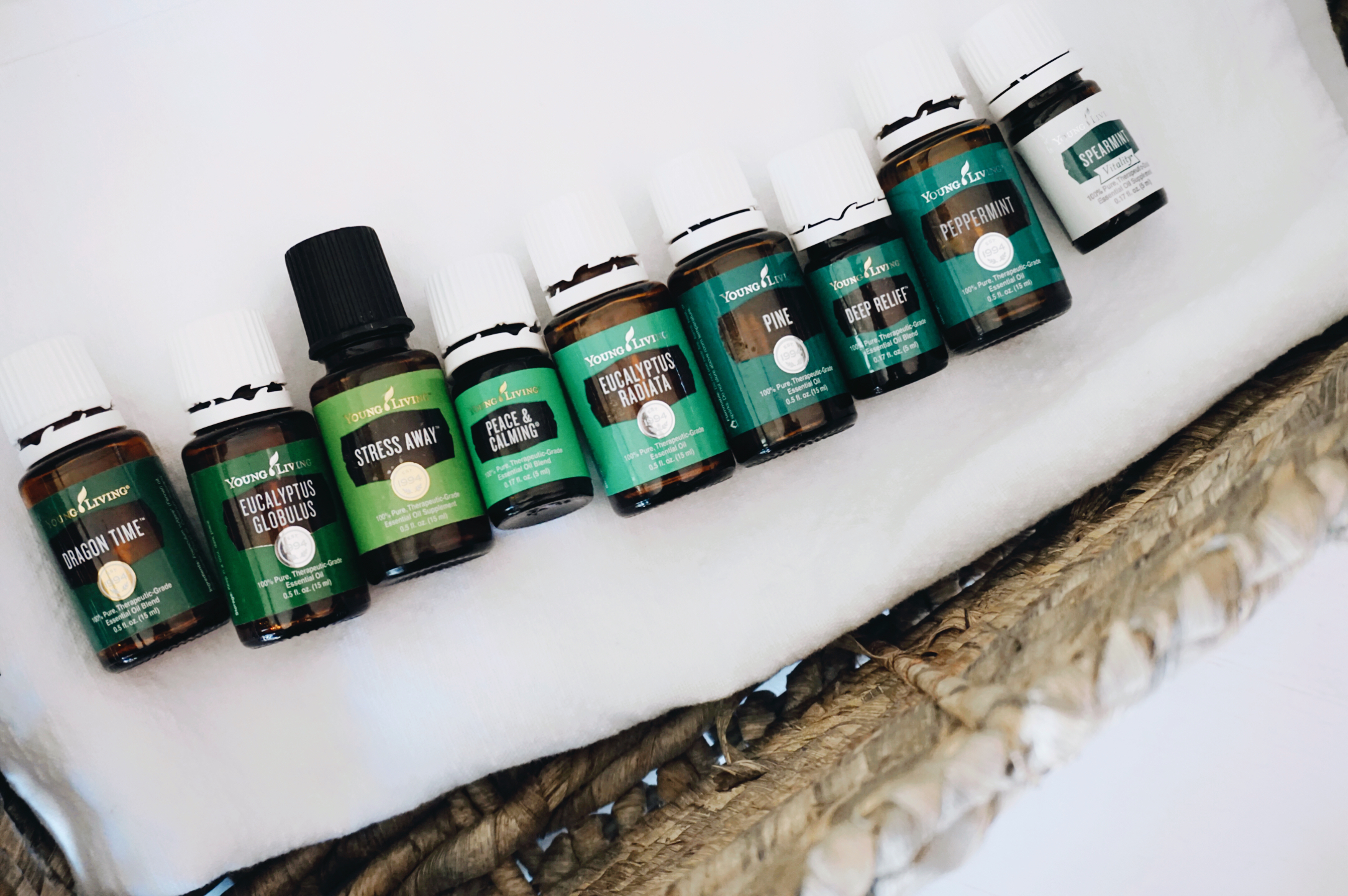 Essential Oils for St. Patrick's Day! It's a green theme of oils for health and wellness and how these bottles of gold and support your family health daily.