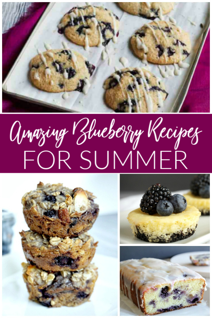 Amazing Blueberry Recipes for Summertime