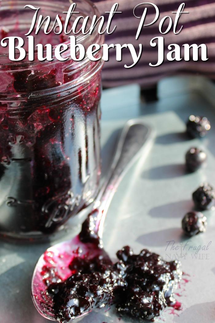Easy-Instant-Pot-Recipes-Blueberry-Jam-Recipe