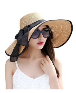 Bowknot Straw Hat