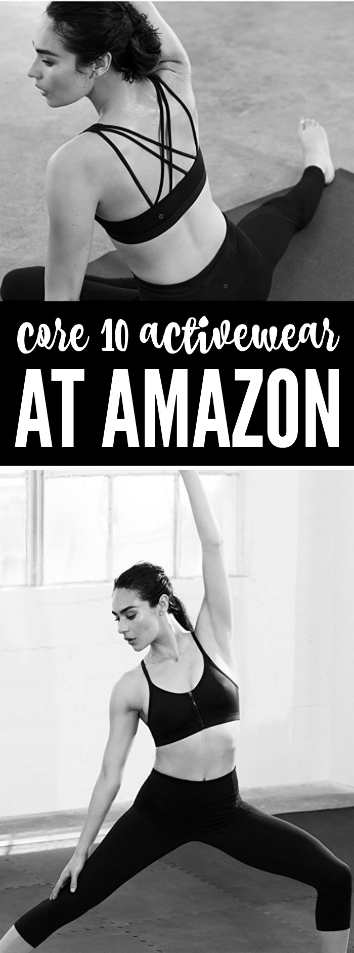 Core 10 Activewear at Amazon! Compare this brand to Lululemon and shop the selection of yoga pants, or pieces to wear to barre or for high intensity training!