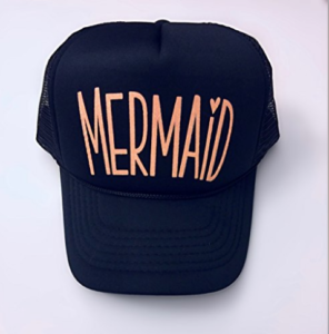 Mermaid Neon Trucker Hat