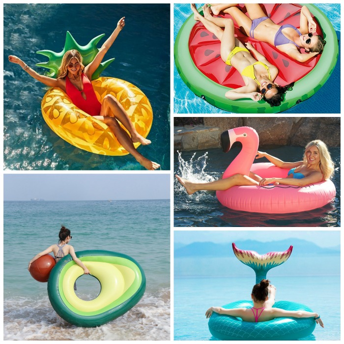 12 Giant Swimming Pool Floats for Summer