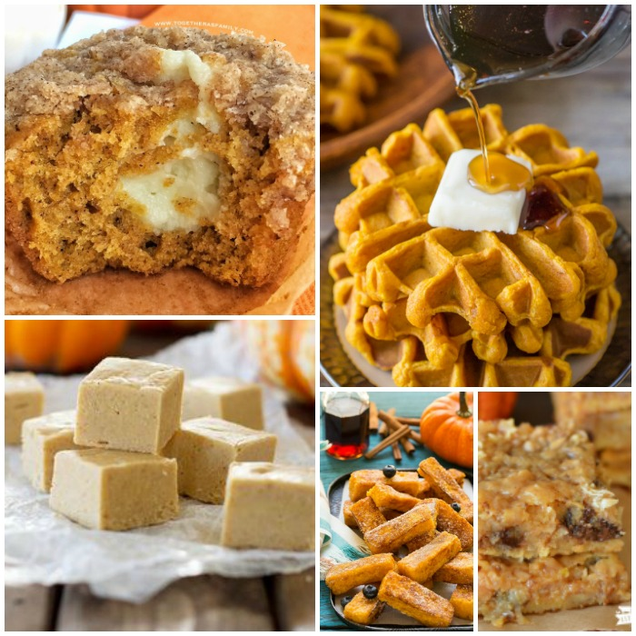 15 Amazing Fall Pumpkin Recipes!
