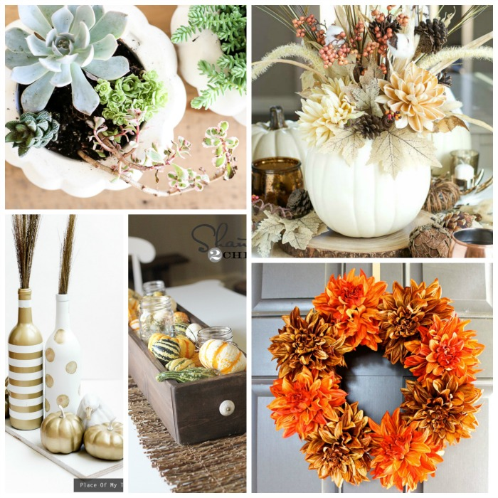 Fall Wedding Decoration Ideas On A Budget: Cheap DIY Fall Decorations On A Budget