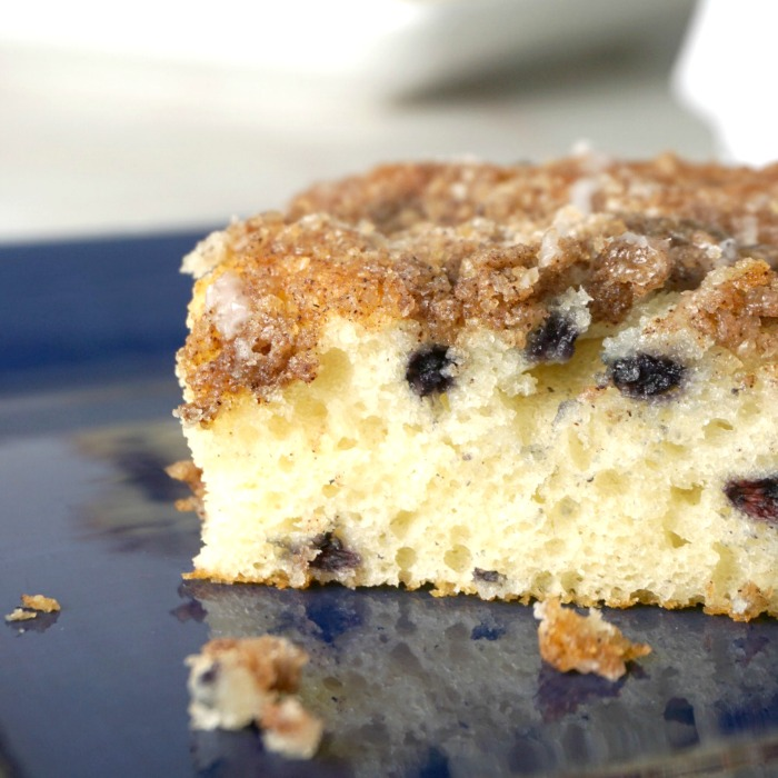 Easy Blueberry Buckle Coffee Cake Recipe!