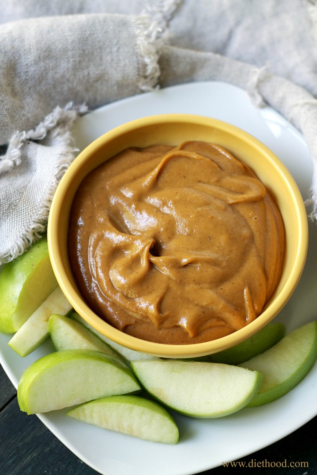 Pumpkin Peanut Butter Dip