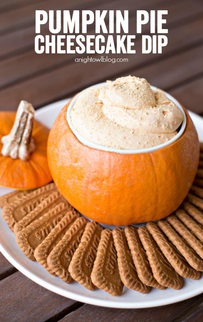 Pumpkin pie Cheesecake Dip