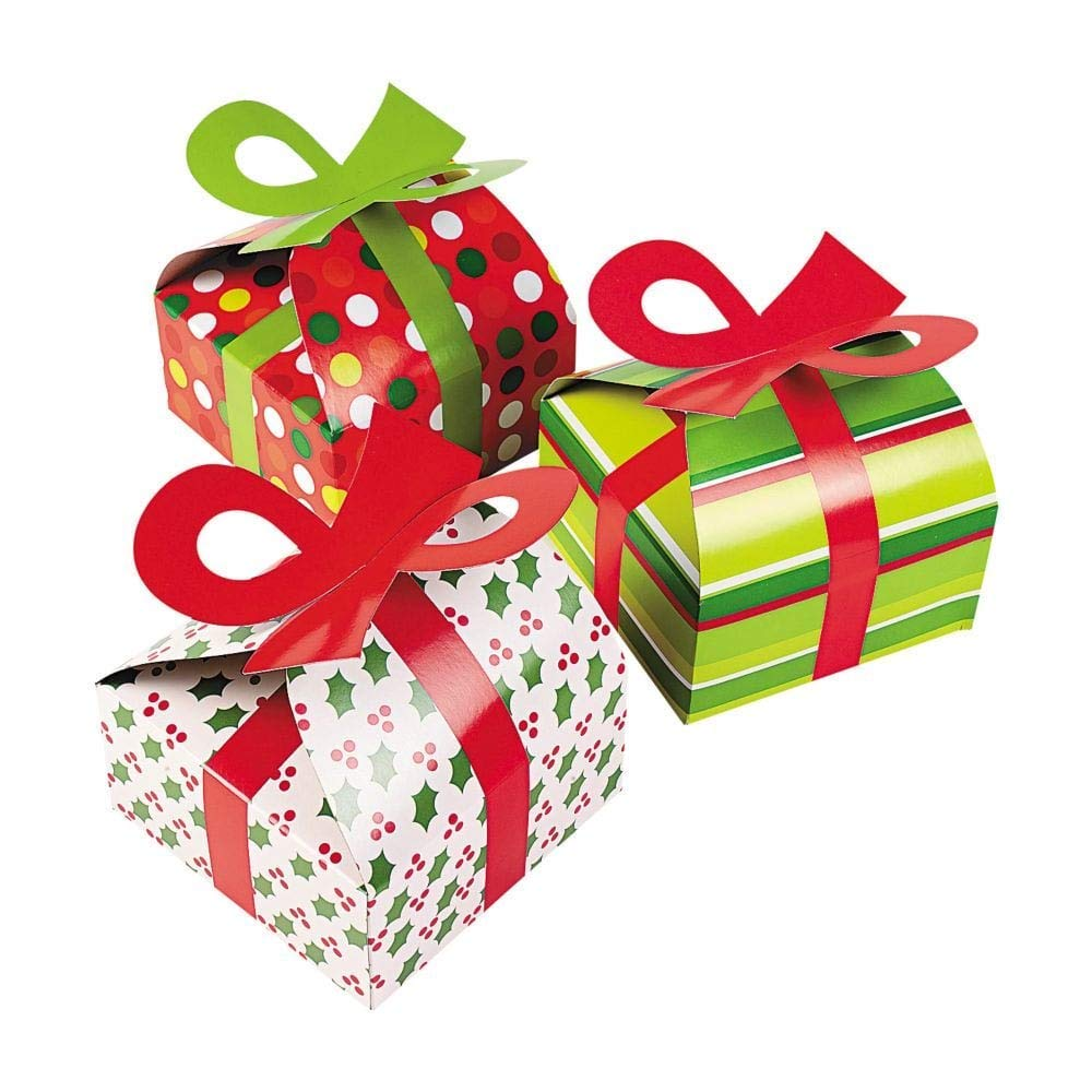 Cheap Christmas Gift Treat Bags And Boxes