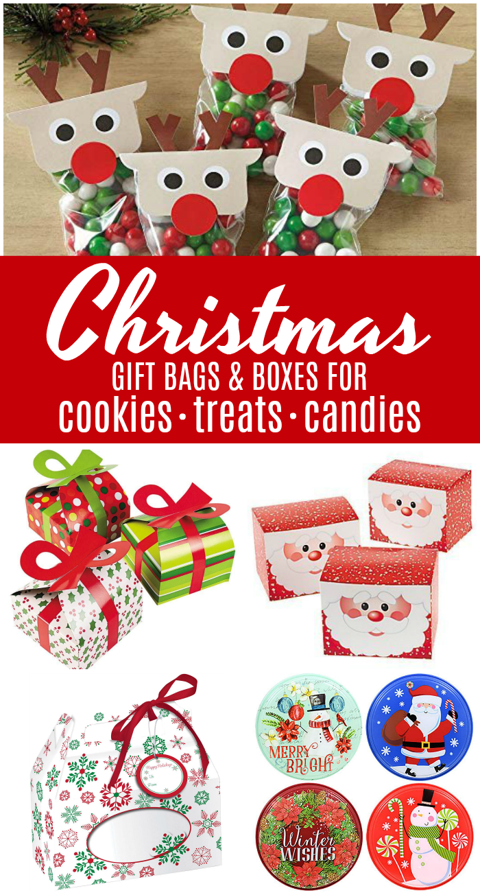 Christmas Gift Ideas For Coworkers.Cheap Christmas Gift Treat Bags And Boxes