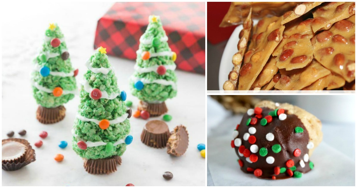 Easy No Bake Christmas Treats