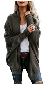 Oversized Chunky Knit Cardigan