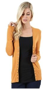 's Snap Button Sweater Cardigan
