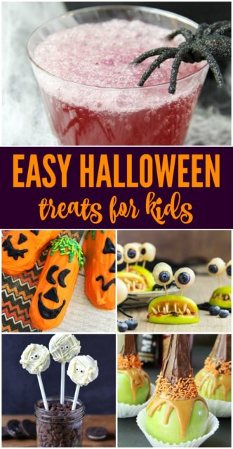 Easy Halloween Treats for Kids! Simple and FUN Ideas for Spooky Halloween Treats! #lemonpeony #halloween #treats #spooky #fun