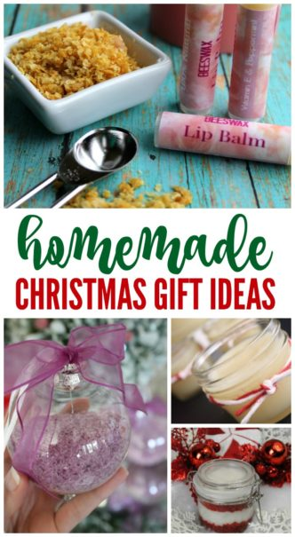 Homemade DIY Christmas Gifts using Essential Oils! Here are some Cheap, AMAZING, and easy Gift Ideas for Your Family, Friends, Neighbors, or Co-workers! #lemonpeony #christmas #giftideas #homemade #essentialoils