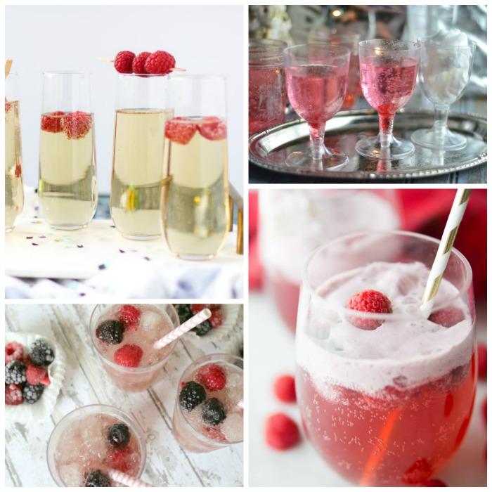 Easy Sparkling Drink Recipes For New Years Eve!
