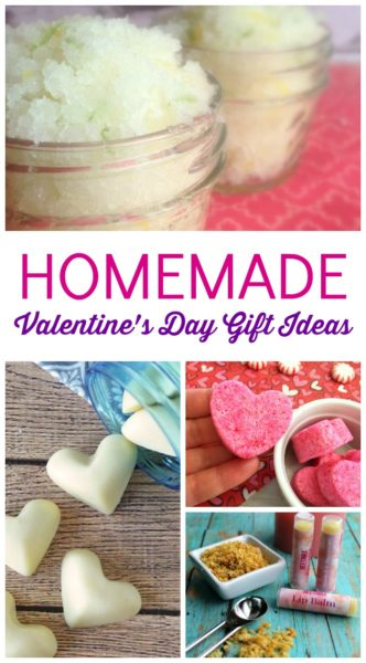 Homemade Valentine's Day Gift Ideas! Homemade DIY Valentine's Day Gifts using Essential Oils! Here are some Cheap, AMAZING, and easy Gift Ideas for Your Family, Friends, Neighbors, or Co-workers!