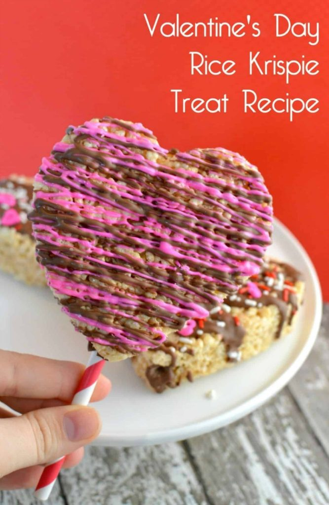 Valentine's Day Krispie Treats