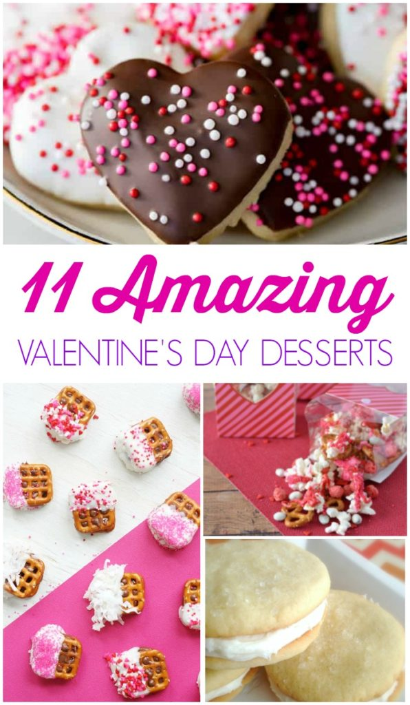 Easy Valentine's Day Dessert Recipes! Amazing Sweets and Treats for Parties, Events, Holiday Snacks, and More! Kid-friendly and simple Red & Pink Ideas!