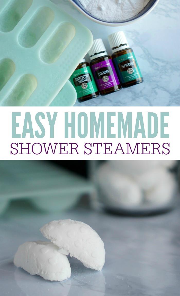 Homemade Shower Steamers