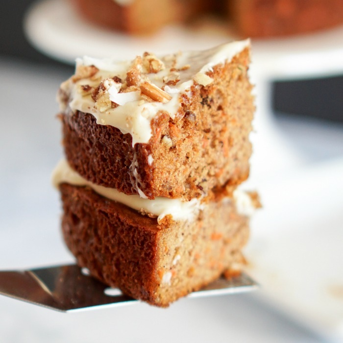 The Best Simple Carrot Cake Recipe With Cream Cheese Icing