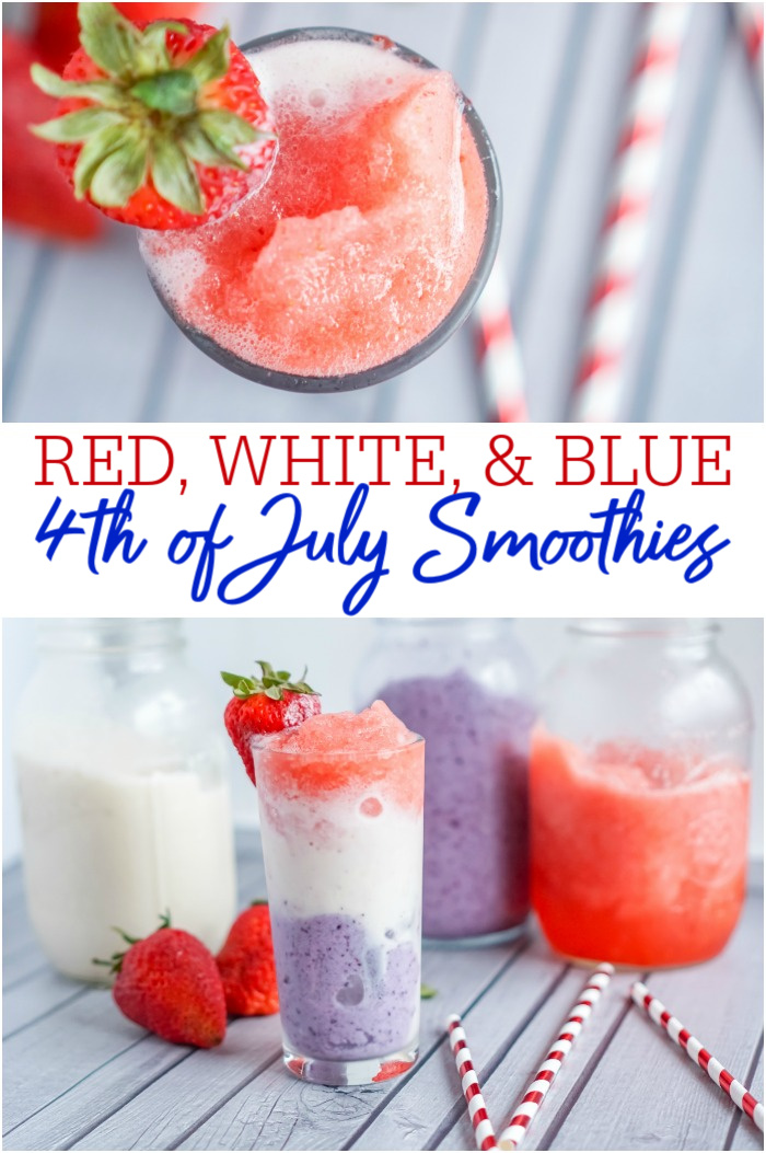 4th of July Smoothies